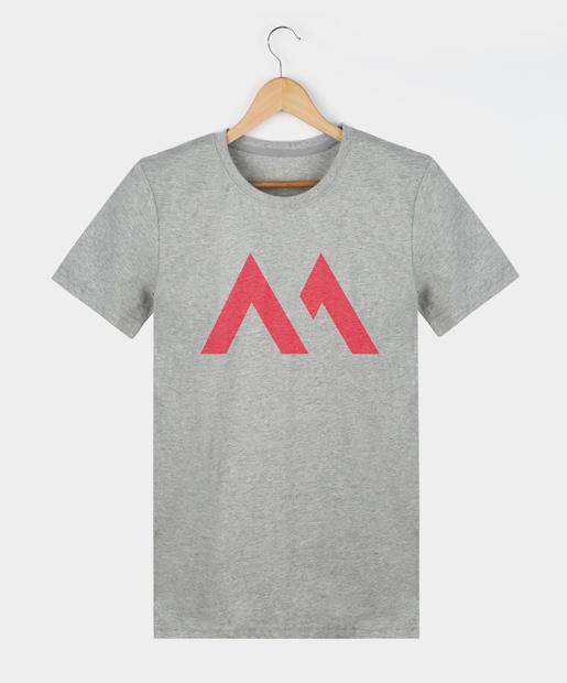Camiseta Bamba - Hombre, gris
